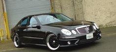 """""""Düstere"""" Aussichten: 2003er Mercedes E320 CDI in Schwarz und Schön"""