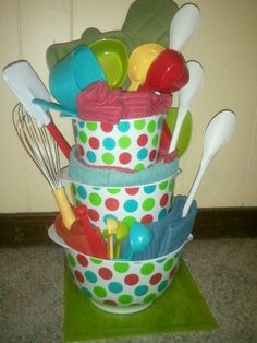 Baking Tower Bridal Shower Gift