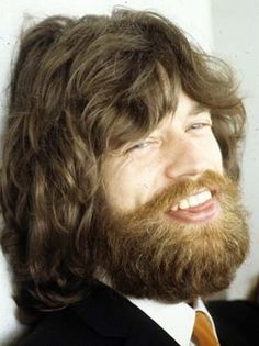 1970s Bearded Mick Jagger.