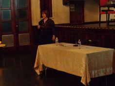Susan Nadathur, author, presents her book CITY OF SORROWS at La Casa de Espana in Old San Juan