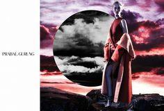 Major: Rosie Huntington-Whiteley Stars In New Prabal Gurung Campaign via @WhoWhatWear