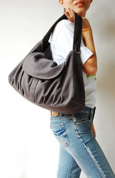 Christmas in July Sale - 15% - Fortuner in Dark Grey (Water Resistant) Diaper bag / School Bag / Wallet