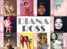 Diana Ross Album Covers 1970 - 1980