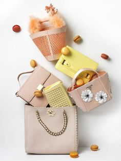 Accessories Photography by Frank Brandwijk I 'Soft Pink Bags' 'Accessories Product Stills'