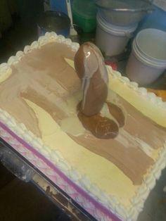 Bachelorette Party cake.