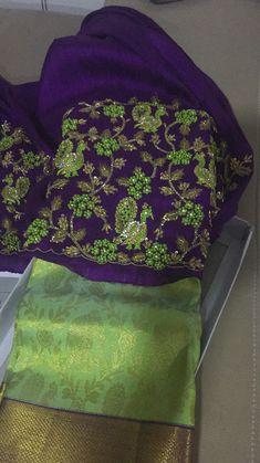 Bridal blouse Whatsup +918919714848
