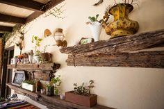 Old Wood Shelves