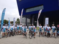 Stage 3 of Chance to Ride setting off from Edgbaston Cricket Ground in Birmingham
