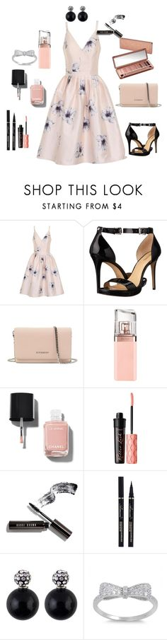 """Untitled #151"" by regnovo on Polyvore featuring Chi Chi, MICHAEL Michael Kors, Givenchy, Urban Decay, HUGO, Chanel, Benefit and Bobbi Brown Cosmetics"