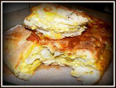 Вкусен тутманик! Ние обичаме тестените изделия и с тази публикация ще продължа темата. Рецептата е за тутманик- топъл, със сирене и яйца, ухаещ на масло!