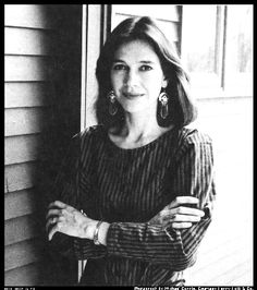 Louise Erdrich, Native American novelist of Tracks, Love Medicine, and The Beet Queen.  Her work introduced me to magical realism.