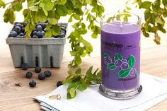 Wild Huckleberry Ring Candle #DiamondCandles - I am very excited about this candle! Coming from Idaho the home of Huckleberries, I can't get enough!