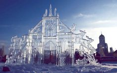 ice sculptures | Ice Sculpture is a year-round exhibition of original ice sculptures ...