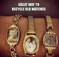 recycle old watches