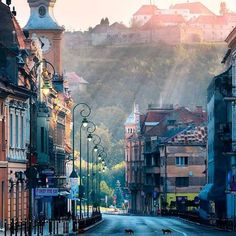 15 Best Places to Visit in Romania - The Crazy Tourist Oh The Places You'll Go, Cool Places To Visit, Places To Travel, Travel Destinations, Travel Around The World, Around The Worlds, Brasov Romania, Beautiful Places, Beautiful World