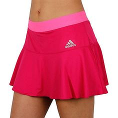 adidas Performance Womens Tennis Short Skort Skirt - with built in undershorts Tennis Clothes, Tennis Outfits, Hockey, Sports Skirts, Tennis Skort, Girl Outfits, Fashion Outfits, Fitness, Pink Girl
