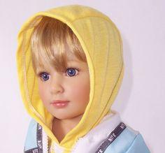 Sonja Hartman boy doll, Bobo. He has such a sweet face.