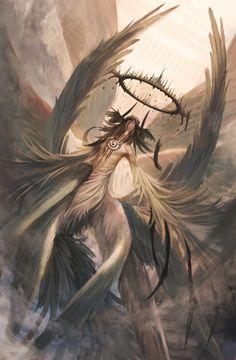 Beautiful anime art dragons and demons art, anime art et alien art. Dark Fantasy Art, Fantasy Artwork, Dark Art, Arte Horror, Horror Art, Fantasy Character Design, Character Art, Arte Dark Souls, Demon Art