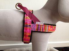 Boho style dog harness - MissFlo.com