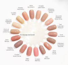 The Beauty Look Book: Color Focus: Pink Nudes for Nails
