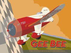 David Grandin - Gee Bee - art prints and posters