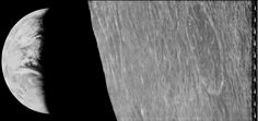 August 27, 2016:      Lunar Orbiter Earthset  -    Image Credit: NASA / Lunar Orbiter Image Recovery Project  -   Explanation: August 10th was the 50th anniversary of the launch of Lunar Orbiter 1. It was the first of five Lunar Orbiters intended to photograph the Moon's surface to aid in the selection of future landing sites.   More...