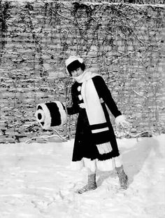 Winter Carnival Princess, St. Paul Winter Carnival, St. Paul,1916.