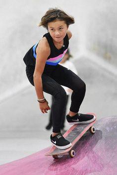 Skateboarding: prodigy Sky Brown looking to make impact beyond Olymp. - Skateboarding: prodigy Sky Brown looking to make impact beyond Olympics 2020 Olympics, Tokyo Olympics, Sky Brown, Abercrombie Girls, Surfer Girl Style, Skateboard Girl, X Games, Tween Fashion, Girl Fashion