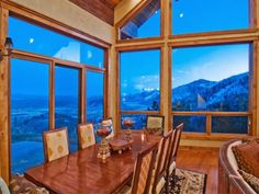 Love the lighting and view on this one. Wow. $2,295,000 2700 N BEAR HOLW  Park City UT 84098    Listing #1069734 By Summit Sotheby's International