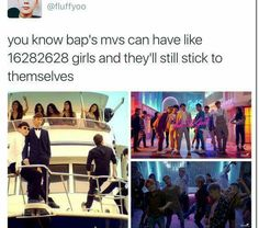 B.A.P stands for B(ros) A(before) P(hoes)
