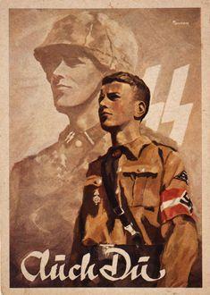 SS-Werbepostkarte, 1938-1944