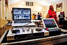Current Setup: MacBook Pro 2012 Running Traktor Scratch Pro 2, Hercules RMX Controller, Midi Fighter Classic, iPad 2 running Touch OSC