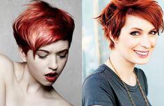 Una fotogallery con tanti stili di capelli rossi romantici da adottare per la fine dell'anno!