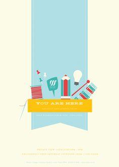 Creative Arts Summer Show by Emma Hopkins, via Behance