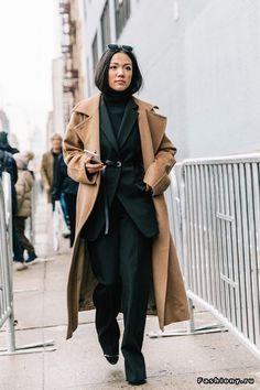 New York Fashion Week осень-зима 2017-2018 - street style
