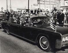 JFK in Dallas 1963