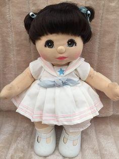 MOOB My Child Doll Brunette DR Brown Charcoal My Child Doll, Dr Browns, Mattel, My Children, Kids, Baby Dolls, Charcoal, Restoration, Childhood