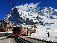 Estación kleine Scheidegg
