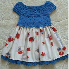 Crochet Toddler, Crochet Girls, Crochet Baby Clothes, Crochet For Kids, Frock Patterns, Baby Dress Patterns, Fabric Tutu, Kids Gown, Crochet Videos