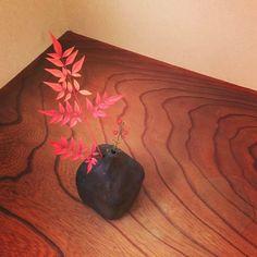 秋の暮れに狭山美学校にいらしたゲストが写真を送って来てくれました。とても良い写真です。美学焼の花瓶に千両を活けています。 #狭山美学校 #美学焼#ceramicart #contemporaryart #生け花 #wabisabi #wabi #sabi #art #美学#哲学 #aesthetics#philosophy #千両