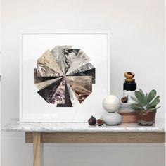 Lucky Wheel Artwork Print by Kristina Krogh | Urban Couture - Designer Homewares & Furniture Online
