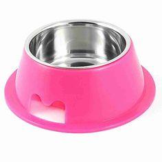 Doppia #ciotola estraibile, una dentro l'altra, per #cani: ciotola esterna in #plastica color #fucsia, ciotola interna in #acciaio! Ideale per #acqua e #pappa! http://www.principini.it/prodotti/cani/doppia-ciotola-alta-per-cani