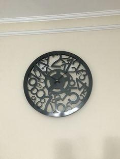 Metal saat #metal #saat #kendinyap #dekoratif (sipariş alınır)
