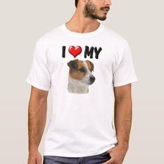 I Love My Jack Russell T-Shirt   chihuahua food, corgi chihuahua, chihuahua quotes #chihuahuasinbed #chihuahuasantiago #chihuahuadigest Chihuahua Terrier Mix, Chihuahua Puppies, Baby Rottweiler, Chihuahua Quotes, Jack Russell Mix, Puppy Names, Big Dogs, Fitness Models, Casual