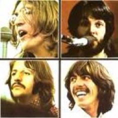 The cover for the 1970 album 'Let It Be' by The Beatles. Clockwise from top left: John Lennon, Paul McCartney, George Harrison, Ringo Starr. Beatles Album Covers, Rock Album Covers, Classic Album Covers, Music Album Covers, Music Albums, Original Beatles, Beatles Radio, Beatles Gifts, Vinyls