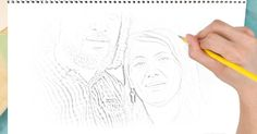 Create a sketch of your favorite picture!