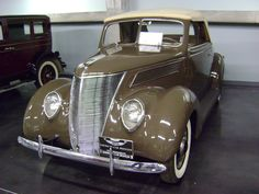 1937 Ford. Photo taken at LeMay Museum in Tacoma, WA., USA.