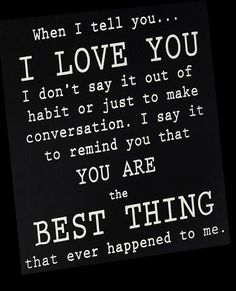 LOVE! What a sweet quote