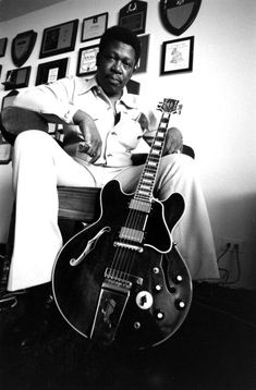 Portrait of musician B.B. King in 1972.