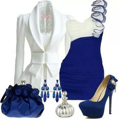 White and blue match